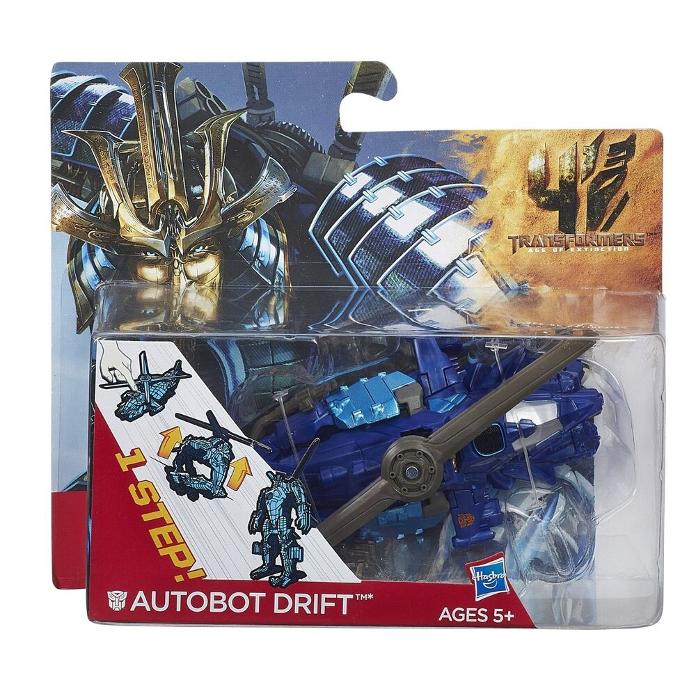 1 Toy For Ages 1 To 7 : Transformers age of extinction one step changer drift
