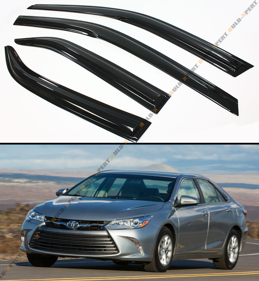 2016 Toyota Camry Pictures: MUGEN 3D STYLE SMOKED WINDOW VISOR VENT SHADE FOR 2015