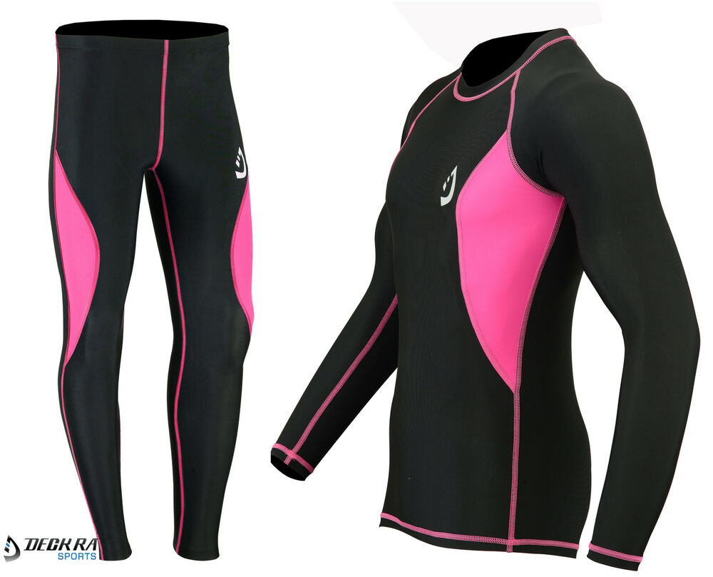 Deckra Womens Compression Tight Base Layer Running Trouser