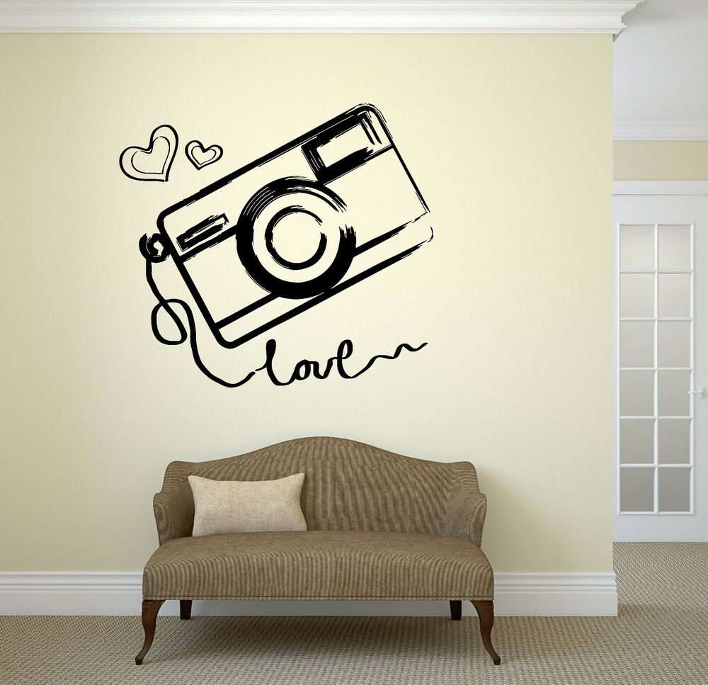 Wall Vinyl Sticker Photo Photography Room Art Kids Teen