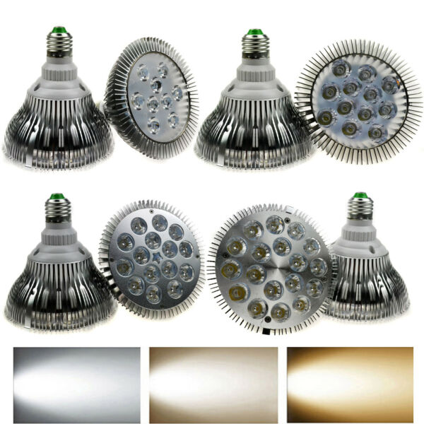 Dimmable CREE E27/E26 PAR16 PAR30 PAR38 10/14/18/24/30/36 W LED Light Bulb Lamp