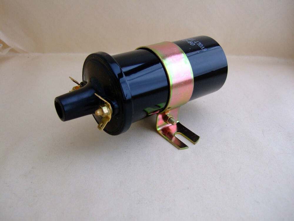 Antique Car Ignition Coil : New volt coil push in for vintage and classic cars buick