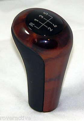 Bmw Oem Leather Amp Walnut Wood Manual 5 Speed Shift Knob