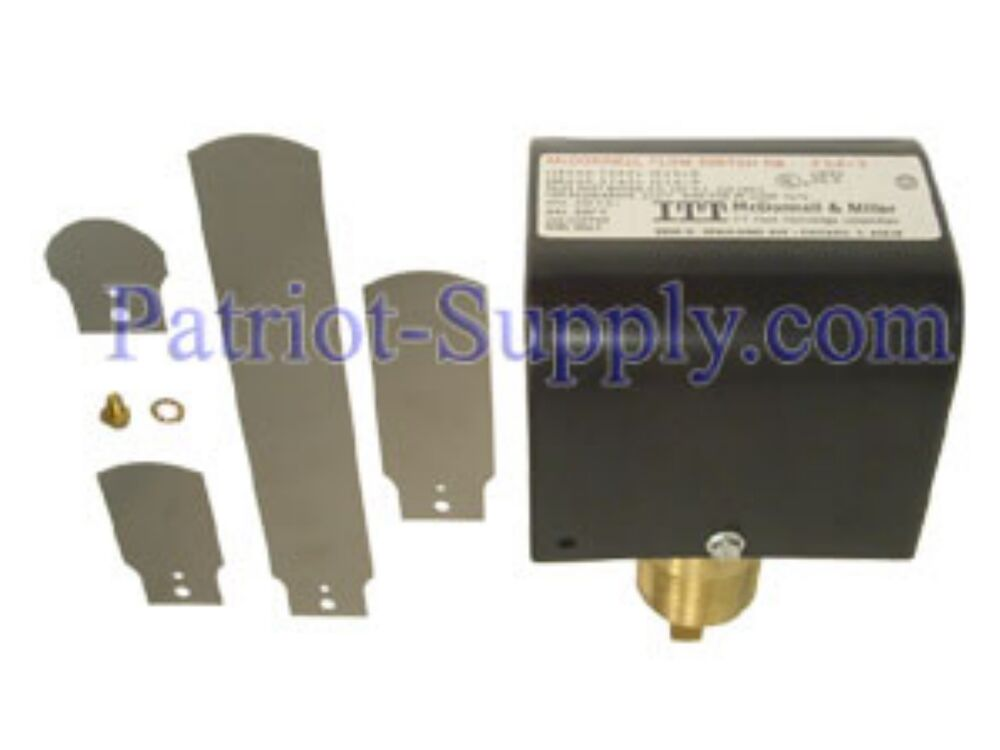 Mcdonnell miller model fs quot paddle style flow switch