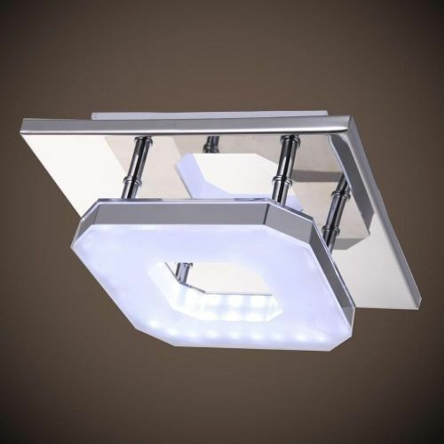 Contemporary LED Acrylic Chandelier Ceiling Light Fixture