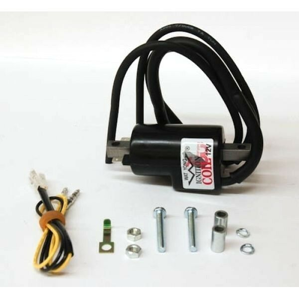 Wat Yong 12 Volt Ignition Coil With Dual Wire Output New