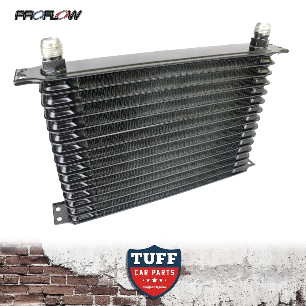 Motor Oil Coolers : Proflow high performance engine oil cooler row