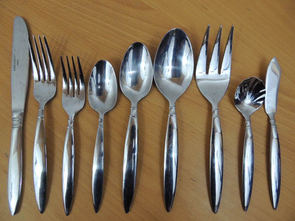 farberware stainless steel flatware china diner your choice ebay. Black Bedroom Furniture Sets. Home Design Ideas