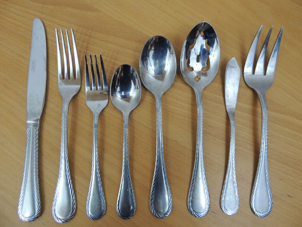 Cambridge Silver Stainless Carlyle Sand Flatware Your