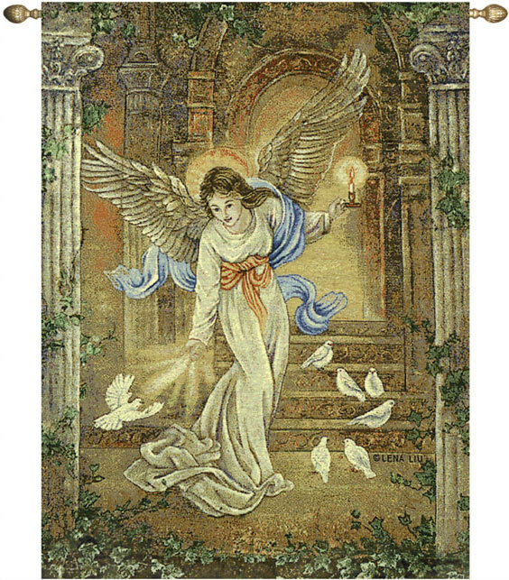 Angel Of Light Angels Tapestry Wall Hanging Artist