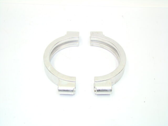 Quot tri clover high pressure clamp stainless sanitary