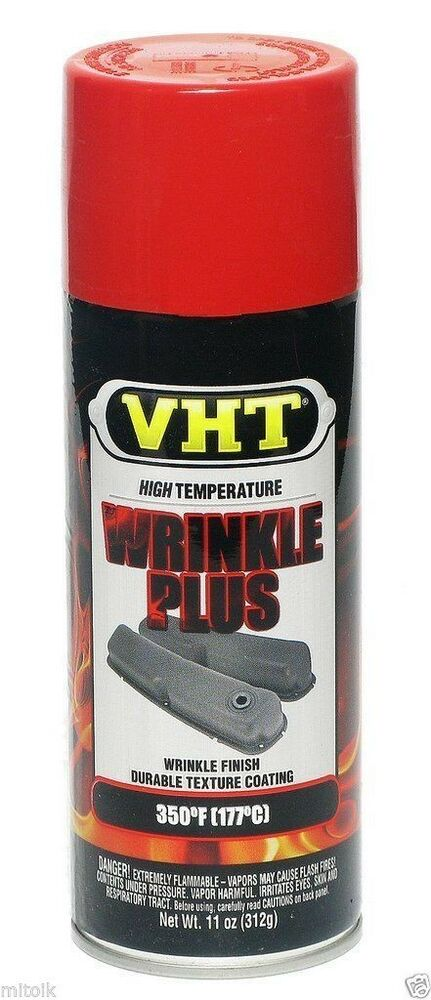 Vht Sp204 Wrinkle Plus Red Wrinkle Texture Paint Auto Car