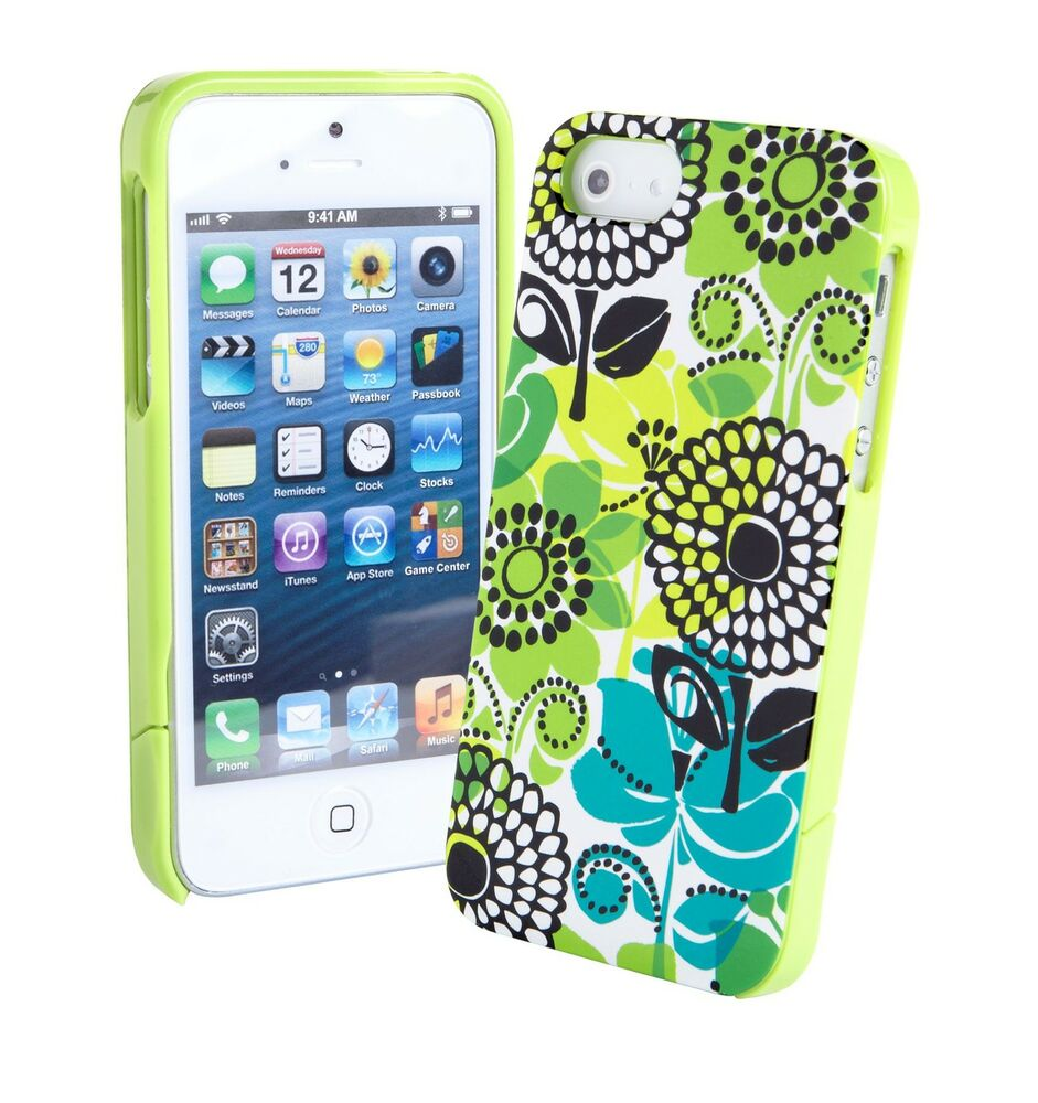 phone cases for iphone 5 vera bradley slide frame phone for iphone 5 ebay 3259