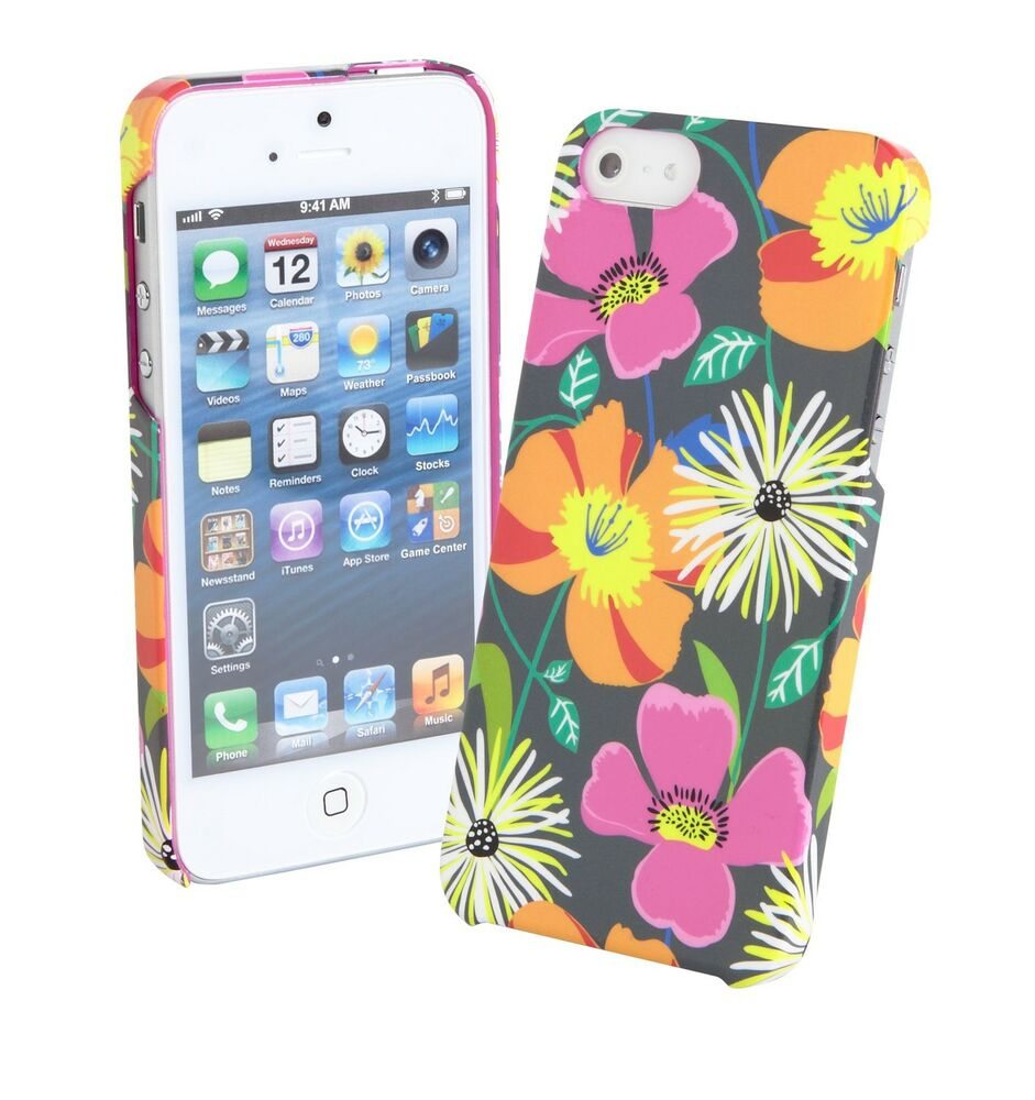 Contact Case: Vera Bradley Snap On Phone Case For IPhone 5