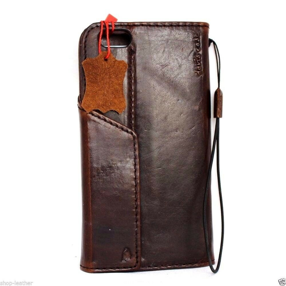 wallet for iphone 6 plus genuine vintage leather fit apple iphone 6 6s plus 18167