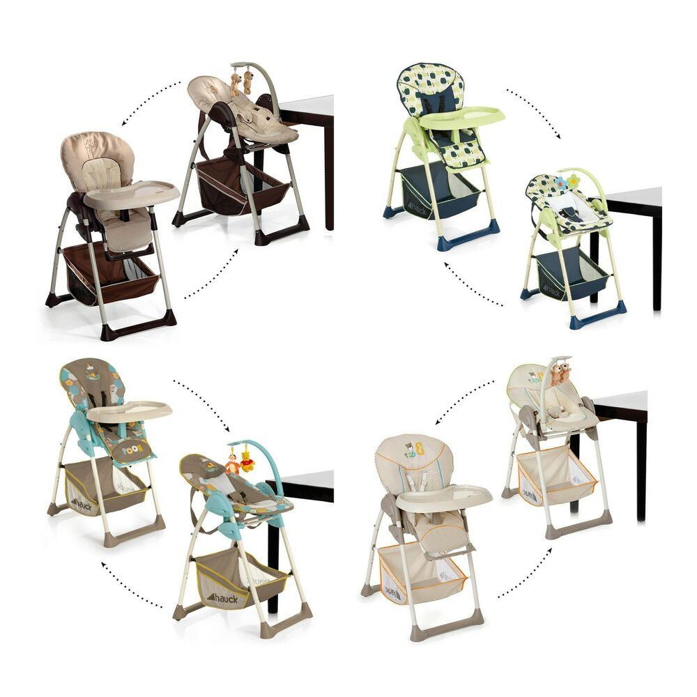 Hauck sit n relax baby childs high chair and reclining - Chaise haute safety first baby relax ...
