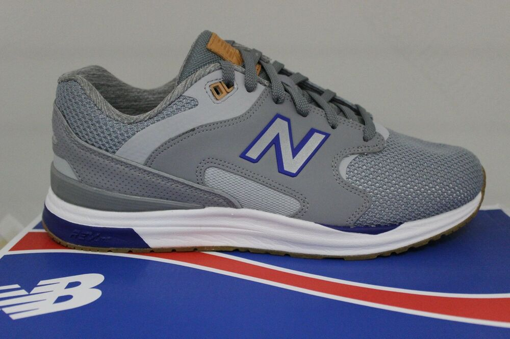 718d95a80b6db Details about Men's New Balance Lifestyle 1550 Grey/Blue/White ML1550AE  Size 9.5 Brand New