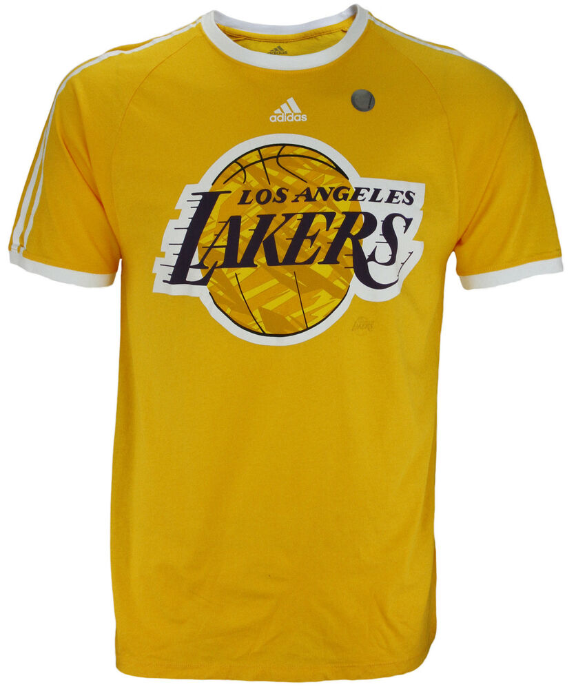 Adidas NBA Basketball Men's Los Angeles Lakers Short ...