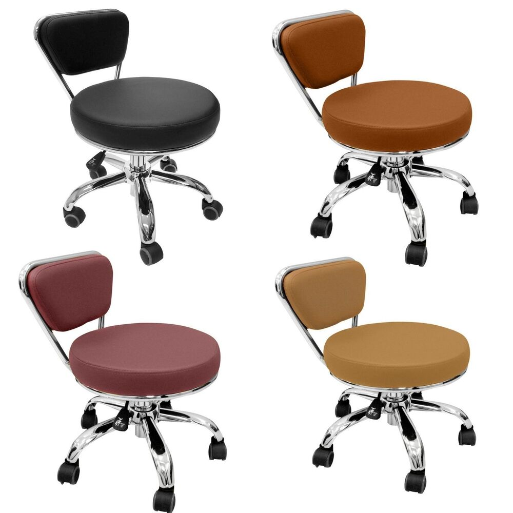 Spa Pedicure Chair Stool Technician Stools Pedicure Stool