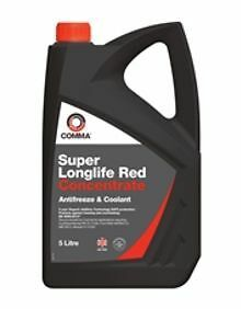 sla5l comma super long life anti freeze red 5 litre 5 year. Black Bedroom Furniture Sets. Home Design Ideas