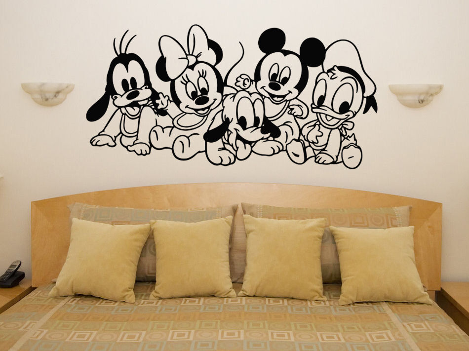 Baby Disney Characters Mickey Minnie Nursery Children's ...