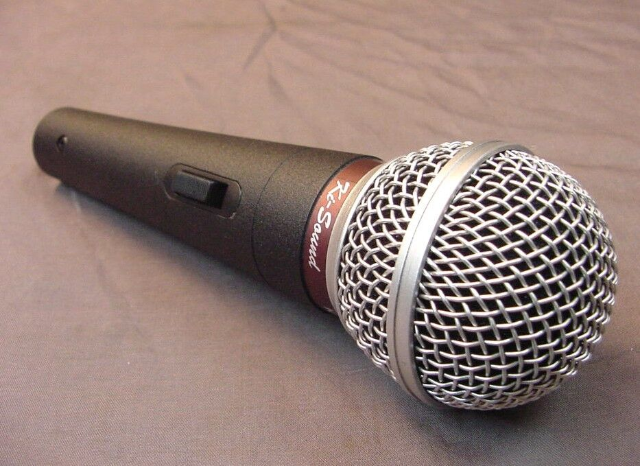 professional dynamic microphone uni directional ebay. Black Bedroom Furniture Sets. Home Design Ideas