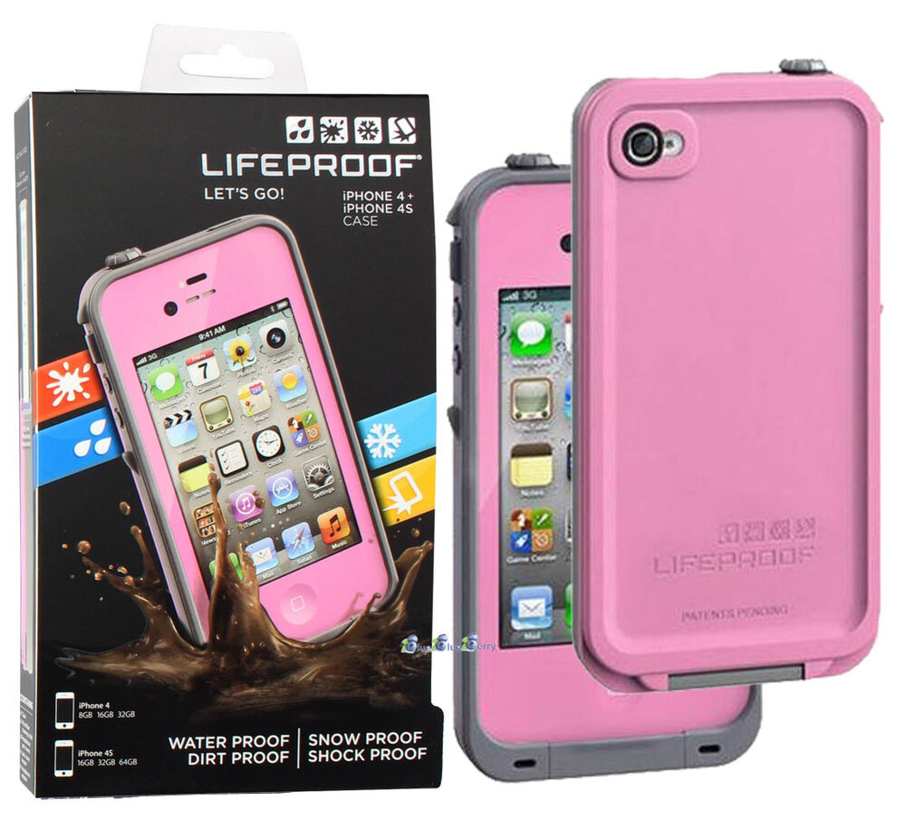 iphone 4s cases lifeproof new lifeproof fre waterproof protective tough cover 8073