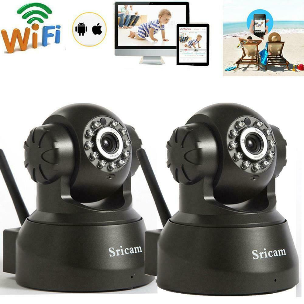 sricam 720p hd wireless wifi ir cut outdoor network pan tilt ip camera day night ebay. Black Bedroom Furniture Sets. Home Design Ideas