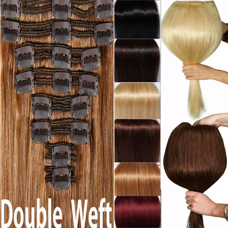 Double Weft Hair Extensions Ebay 100