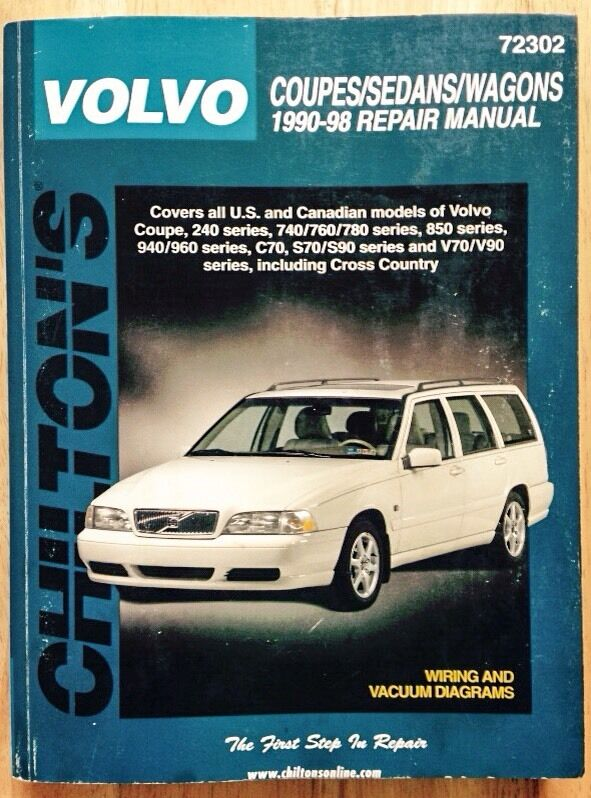 1994 Volvo 850 Repair Manual