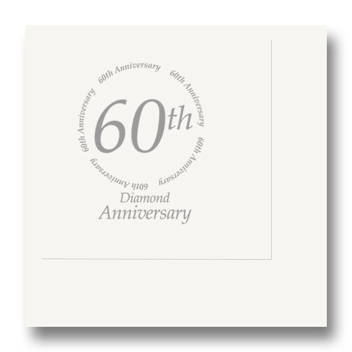 60 Wedding Anniversary Party Ideas: 60th ANNIVERSARY BEVERAGE NAPKINS Party Supplies FREE