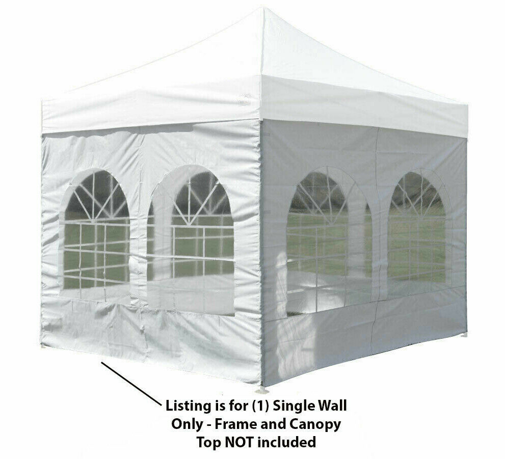 10x10 Pop Up Canopy Tent Sidewall Windows Gazebo Party