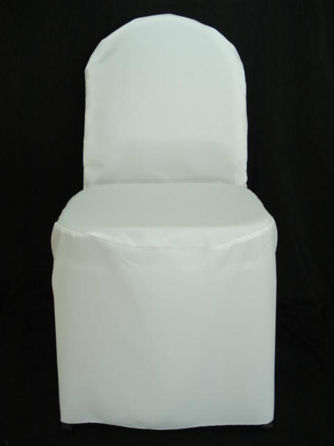 150 polyester wedding banquet chair covers white ivory
