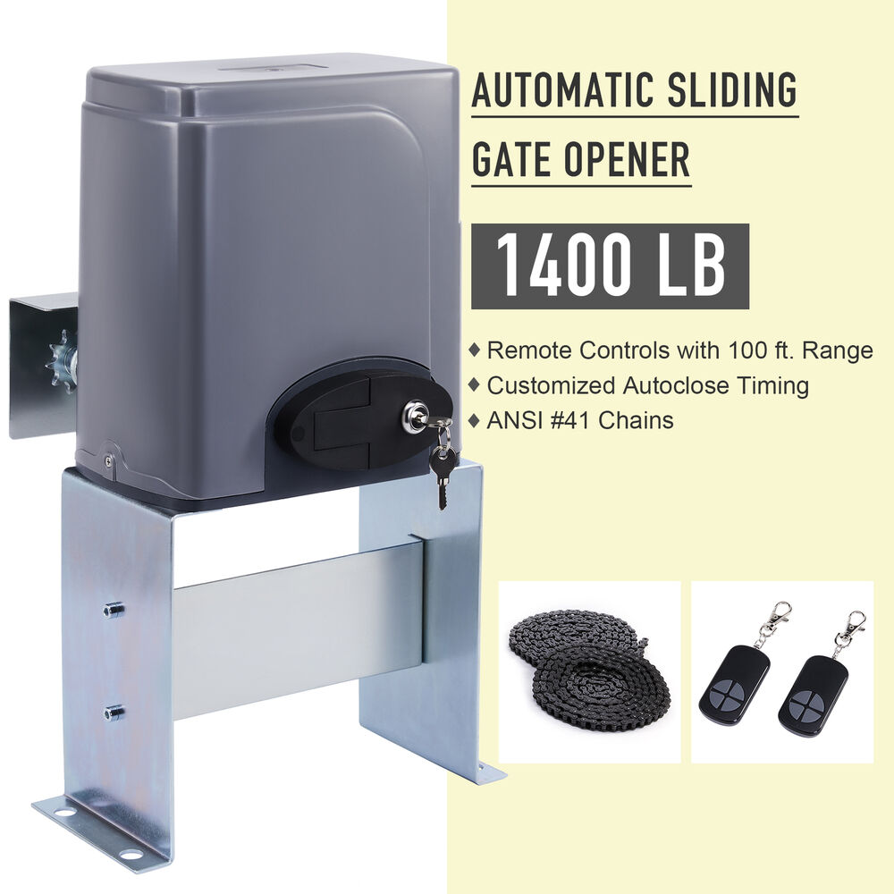 Automatic Sliding Gate Opener Hardware Driveway Security