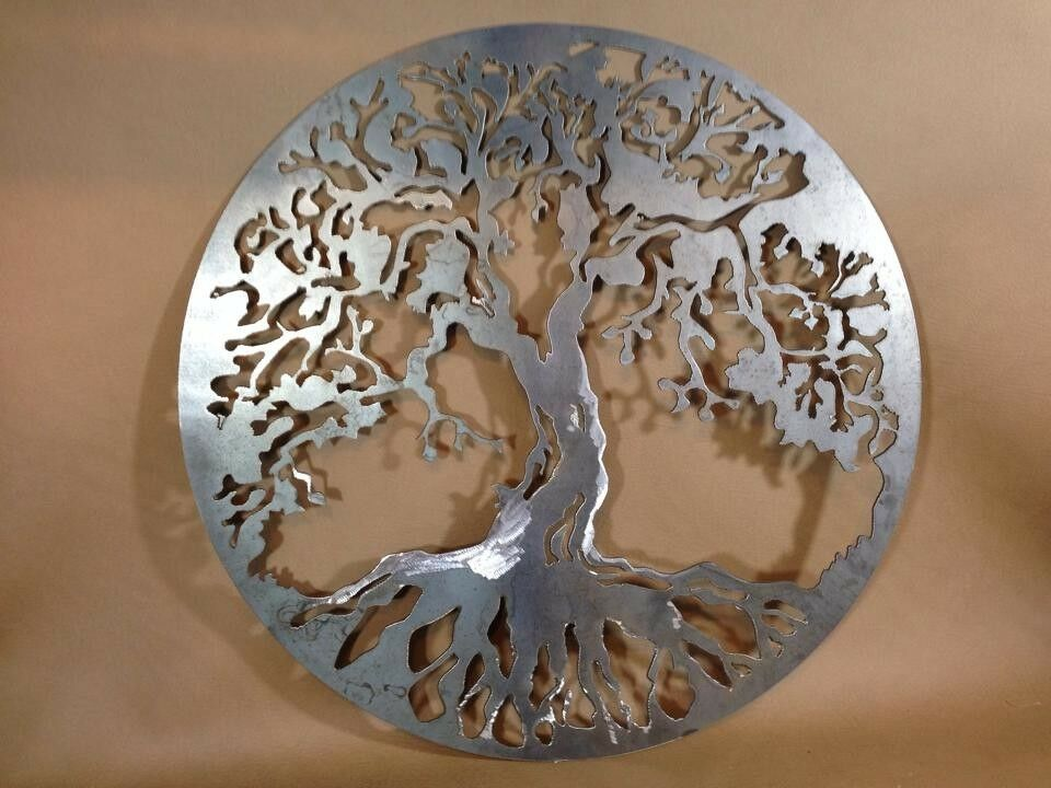 20 decorative tree of life plasma cut metal wall art Metal home decor