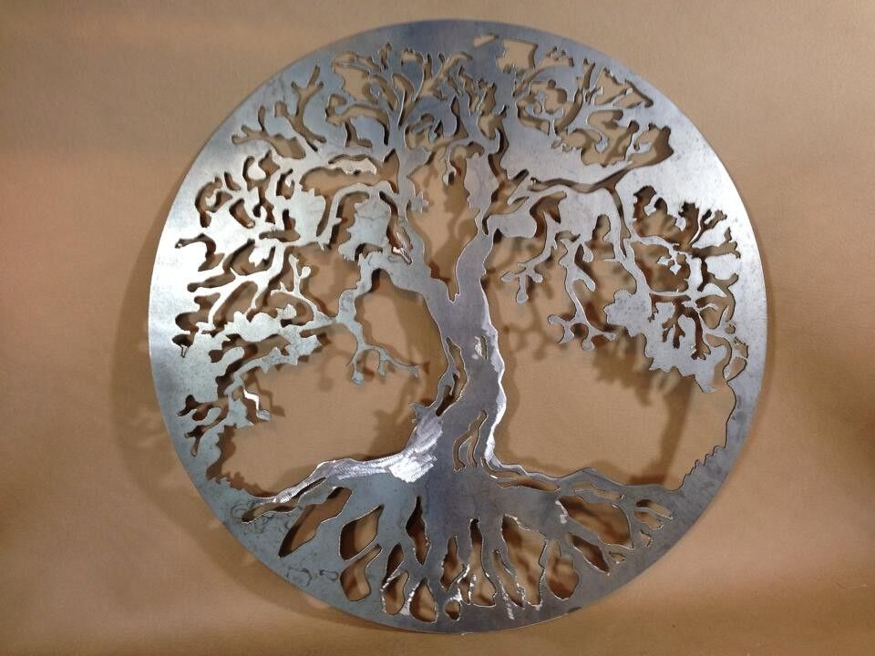 20 decorative tree of life plasma cut metal wall art Home decor sculptures