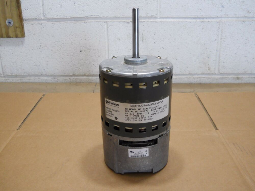 Ge 1 2 hp ecm blower motor 5sme39sl0705 uv750ct ebay for 2 hp blower motor
