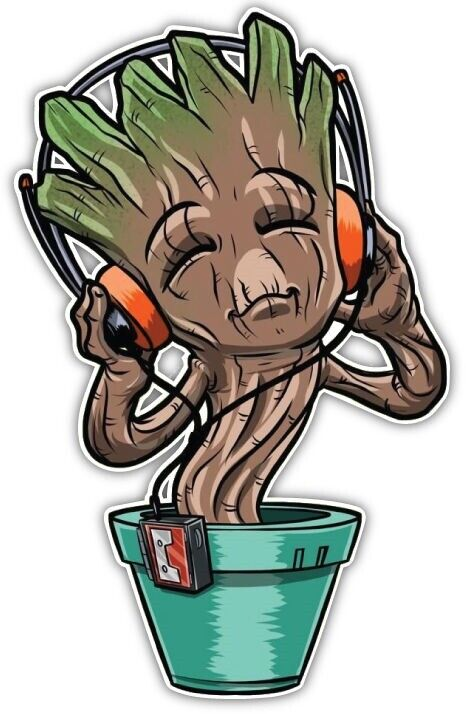 Marvel Avengers Guardians Of The Galaxy Lil Groot Anime