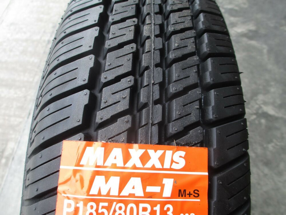 New 185/80R13 Maxxis MA-1 Tires 80 13 1858013 R13 80R Treadwear 420 ...