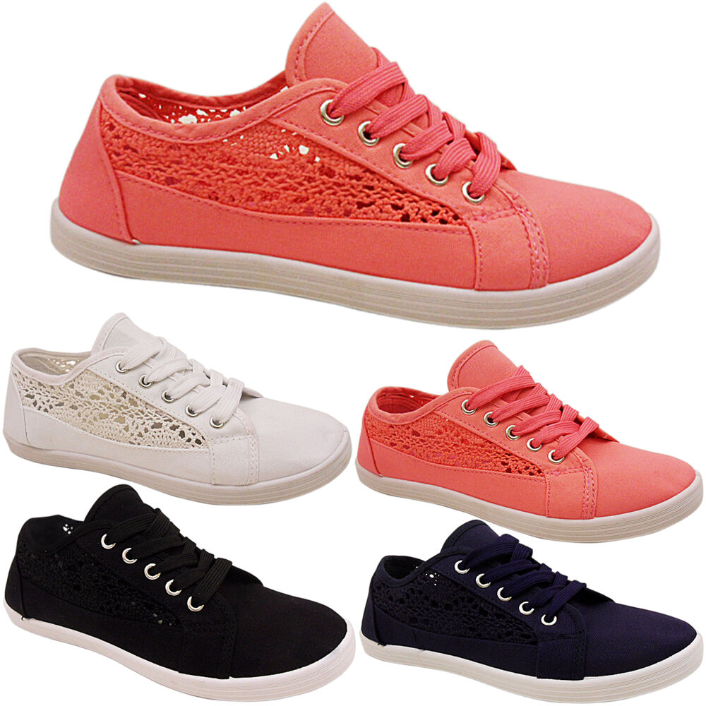 Adidas Ladies Pumps With Lace Sides