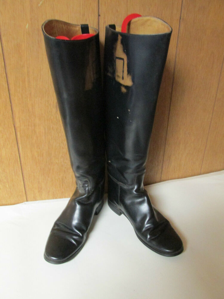 Hawkins Made In England Riding Equestrian Boots Uk 5 5 Us