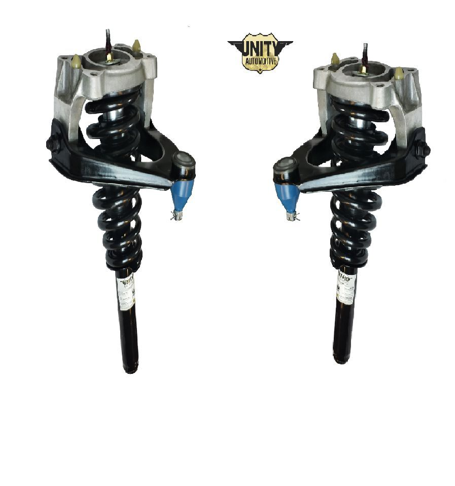 Pair Front Strut Assembly,Control Arm,Ball Joint Fits 1999