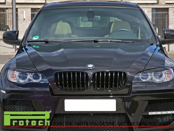 For E70 X5 X5m Bmw 2007 2013 Shinny Black Front Grill