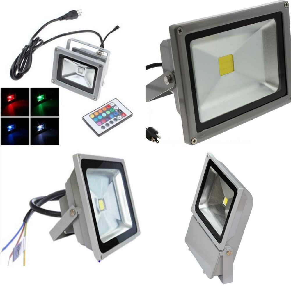 high quality flood light led ac dc outdoor waterproof spot light landscape lamp ebay. Black Bedroom Furniture Sets. Home Design Ideas
