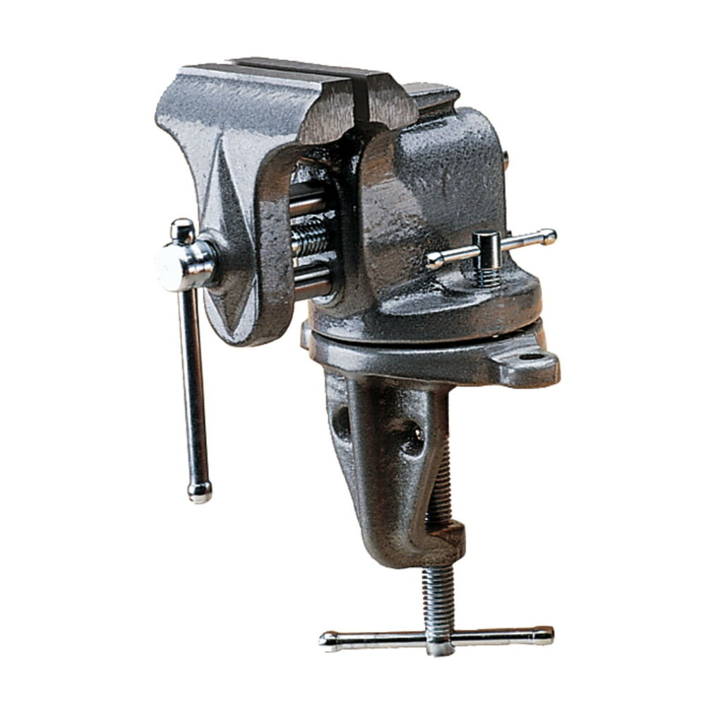 Wilton 153 3 Jaw Clamp On Bench Vise 2 5 Opening 2 5 8 Depth 33153 Ebay