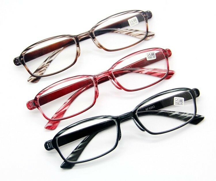 3 Colors Flexible Wood Grain Frame reading glasses ...