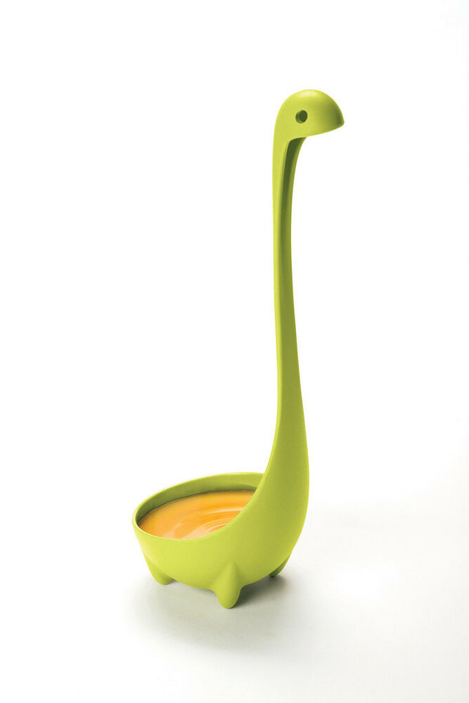 Nessie Ladle Loch Ness Monster Serving Soup Spoon Green Home Kitchen ...