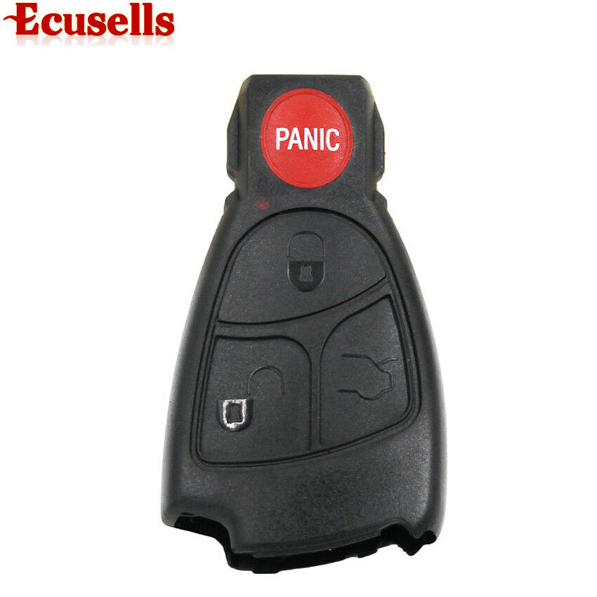 Remote key fob case shell for mercedes benz c350 benz for Mercedes benz replacement keys