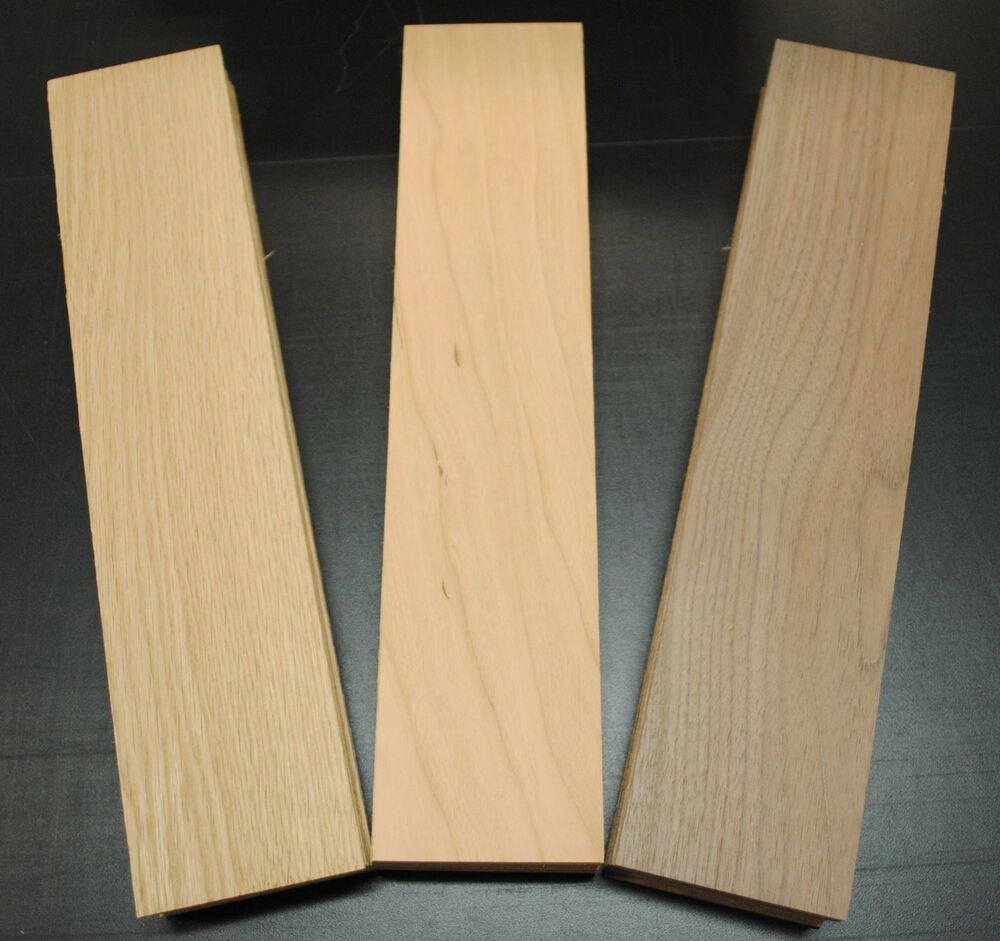 WALNUT OAK CHERRY THIN BOARDS LUMBER WOOD 18 X 212 X