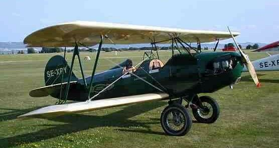 Fisher Celebrity LS 2-place biplane repair project